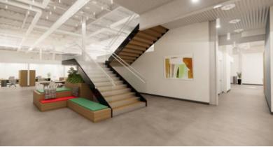 innovation park office buildings interior